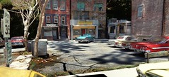 Lunchtime at Frank's (gpholtz) Tags: diorama miniatures 118 diecast