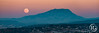 """""""Périgée-syzygie lunaire à la Sainte-Victoire"""". Provence, France. (Raphaël Grinevald • Photographe) Tags: soleil terre lune super périgée syzygie pleine moon full fullmoon provence raphaelgrinevald reflex nikon nikkor d800 70200 28 vr saintevictoire montagne moonrise rise aix aixenprovence bouches du rhône paysage paca provencealpescôtedazur provençal landscape"""