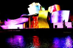 Museo Guggenheim Bilbao: 20 Aniversario -1997 - 2017 (P.H.F.) Tags: museo guggenheim bilbao 20 aniversario 1997 2017 reflejos luz y sonido