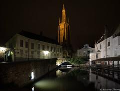 Un peu de Bruges (musette thierry) Tags: bruges brugge nuit soirée paysage landscape promenade nikon reflex belgium belgique lumiére europe flandre