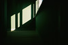 Green Room (Roderick van der Steen) Tags: nikonf100 zeissmilvus50mmf14distagon zeiss milvus1450 zf2 architecture green sun sunlight kodak portra400 frontierscan