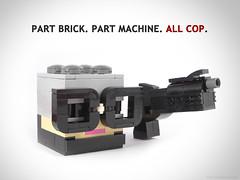 Your move, nerd! (Unijob Lindo) Tags: nerdvember nerdly lego robocop bricknerd tommy 80s eighties blocks movie