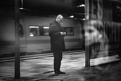 Es reicht (DOKTOR WAUMIAU) Tags: blackwhite ishootraw bw blackandwhitephotography fuji fujifilm fujilove fujix fujixt20 lightroom monochrome sbahn xf56mmf12 xt20 500px berlin nightphotography reflection