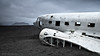 """delayed"" (hspfoto) Tags: wrack plane wreck aircraft island iceland monochrome mcdonalddouglas dc3 c117 flugzeug"