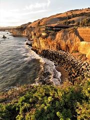 Central Coast (moonjazz) Tags: california coast travel senic photography pacificocean cliffs geology pismobeach vista spectacular landscape canon amazing surf sunlight highway1 trip moonjazz central rocky