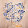 Blue Hydrangea Heart Love (photoart33) Tags: petals flowers stilllife blue hydrangea pretty love heart romantic text