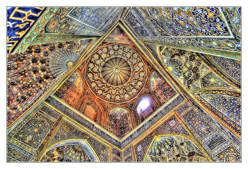 Samarqand UZ - Registan Sher-Dor-Madrasa 03
