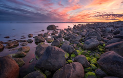 All those rocks (languitar) Tags: norway rock pebblestone beach ocean mølen colors clouds photography sunset northsea hdr colorefex4 evening coast sea colorefex kingdomofnorway nikcolorefex norge rocks shore vestfold no
