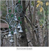 Silver Bells (Sherwood Harrington) Tags: bells windchimes woods christmasdecorations fortharrington