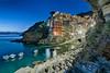 Riomaggiore (Warren Chamberlain) Tags: riomaggiore italy coast blue hour cinque terre warren chamberlain