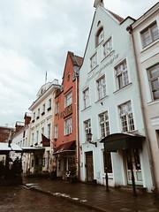 Old Tallinn. (littleninox) Tags: tallinn city oldcity oldbuilding travel aesthetic winter rain autumn old beautiful grey