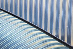 ODC Metallic - EXPLORED 170 on 19th November 2017, Thanks! (jimj0will) Tags: odc car windscreen stripes metallic abstract steel lines dpi