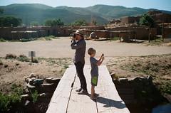 will and charlie taking photos (__will) Tags: 35mm film filmisnotdead filmsnotdead 35mmfilm portra taos taospueblo newmexico nm