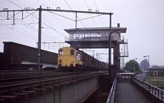 Amsterdam Rietlanden, post I in 1979 (Ahrend01) Tags: amsterdam post i reiterstellwerk seinhuis klassieke beveiliging rangeren rietlanden havens