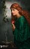 Persehpone Contemplates her Fate (notdon.com) Tags: persephone greek goddess hades wife rossetti myth porsipine roman proserpina kore cora pomegranate