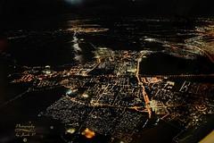 In the night (Jurek.P) Tags: netherlands night nightcity nightshot flight inflight birdseyeview lights fromplane jurekp sonya77