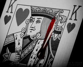 The Suicide King - King of Hearts