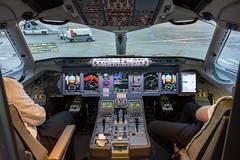Brussels Airlines / Su95 / EI-FWE / LFSB (_Wouter Cooremans) Tags: basel bale baselmulhouse mulhouse europort bsl lfsb spotting spotter avgeek aviation airplanespotting brussels airlines su95 eifwe sukhoisuperjet100 sukhoi superjet100 ssj100 flightdeck cockpit