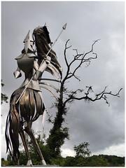 Geoffroy la Grand'dent (abac077) Tags: statue sculpture lusignan vienne 86 poitou janeconil geoffroylagranddent