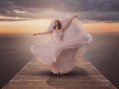 Ballerina (The-Hawk) Tags: nikon d800 dress ballet ballerina windermere jetty light composite dance