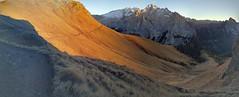 Pordoi Pass (Aleksandr Zykov) Tags: panorama pass dolomites mountains alps trentino hiking sunset marmolada