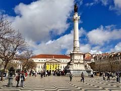 Rossio Square (brimidooley) Tags: pedroiv rossiosquare column lisbon lisboa portugal city citybreak travel tourism europe eu rossio lissabon lisbonne portugali portogallo