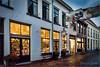 Walstraat Shops (Hans van Bockel) Tags: city licht schemer sfeer stad wandelen winter deventer overijssel nederland nl walstraat kruidnagel drogisterij bergkwartier nikon d7200 1680mm explore