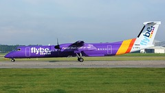 G-PRPJ (AnDyMHoLdEn) Tags: flybe dash8 bombardier egcc airport manchester manchesterairport 23l