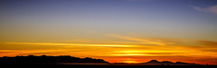 Casa Grande Sunset (mjhedge) Tags: phoenix casagrande arizona desert sunset fuji fujifilm fujixpro2 mike xpro2 sky orange dusk panorama