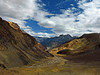 As the valley spreads its wings... (Lopamudra !) Tags: lopamudra lopamudrabarman lopa landscape spiti spitivalley river kunzum kunjum pass la himalaya himalayas highaltitude highland himachal himachalpradesh hp india valley vale stream clouds cloud sky skyscape colour color colours colourful cold mountain mountains range hill picturesque lightandshade light shine shining sunshine sunlight