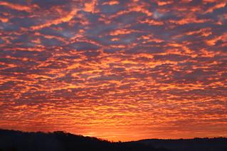Sunrise - no digital effects