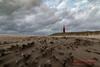 Texel Lighthouse (Thoober) Tags: 2017 70d herbst holland insel texel urlaub lighthouse leuchtturm strand sand wind sky himmel wolken clouds storm nordsee northsea landschaft landscape meer