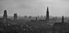 Antwerp (Eric@focus) Tags: noiretblanc skyline mono bw cathedral church skyscraper architecture visitantwerp haze toptencities lonelyplanet skancheli