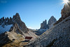Italy | Rifugio Locatelli and Tre Cime (Nicholas Olesen Photography) Tags: italy europe horizontal landscape mountains tre cime rifugio locatelli hiking outdoors nature travel nikon d7100 rocks snow building dolomites south tyrol