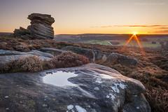 Over Owler Tor (marc_leach) Tags: peakdistrict overowlertor mothercap heathersage landscape sunrise canon