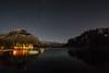 (cec403) Tags: lakeminnewanka banffnationalpark night stars longexposure mountains alberta canada canont4i