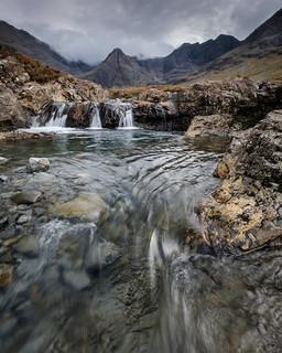 Foreboding Skyline, Fairy Pools, Skye.