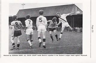 Barnet FC - Official 1975/76 Handbook - Page 35
