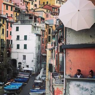 Cinque Terre! Riomaggio beautiful village