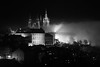 Misty / Brumoso (toncheetah) Tags: castle prague praha mood fog haze