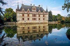 Château d'Azay-le-Rideau, Francia. (estebanjvr) Tags: reflejos loira francia château castillo