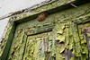 Door in Need of Repaint - Unused Except for Wasps, Santorini Details 44 (John Hallam Images) Tags: door need paint repaint unused wasps nest santorini details greece greek island