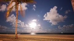 Fort Lauderdale Beach at Night (renedrivers) Tags: renedrivers rchan415 florida