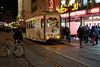 Würzburg. Nikolaustram / Christmas Tram (wwwuppertal) Tags: würzburg franken unterfranken freistaatbayern main vorweihnachtszeit strasenbahn historisch historic tram tramway streetcar nikolausbahn christmastram santaclaustram abend evening