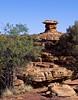 Petrified Mushroom (Padmacara) Tags: australia kingscanyon g11 rock stool mushroom