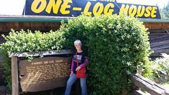 One.Log.House.SusanP (redwoodcoaster) Tags: humboldt redwoods redwood coast national park travel california eurekaca