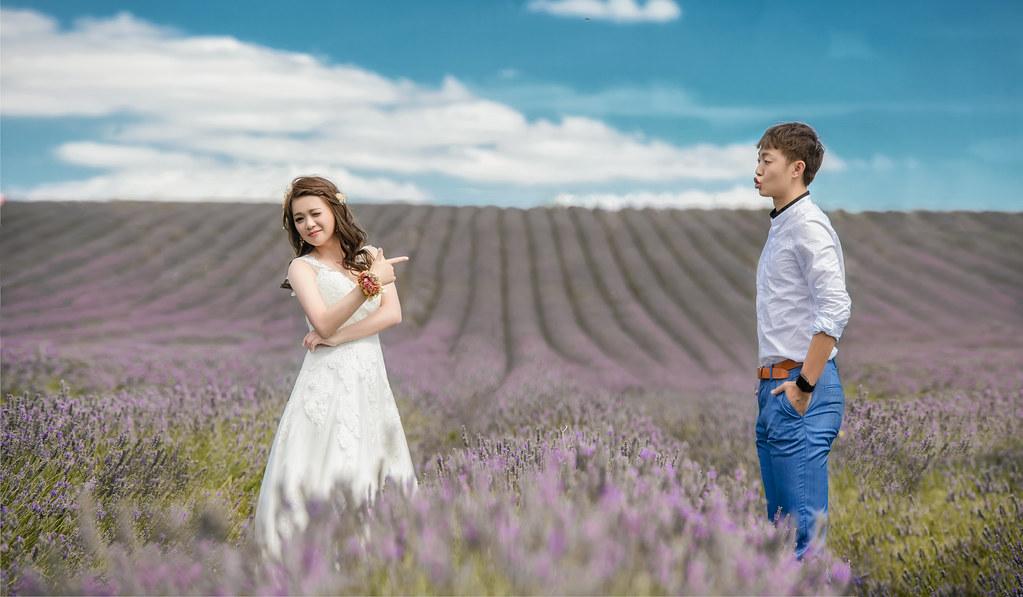 倫敦婚紗 薰衣草婚紗拍攝 禮服: Toris Wedding