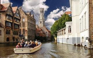 les canaux de Bruges - 4096