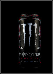 Black Energy (Me in ME) Tags: monsterenergy lightbox productbox blackonblack