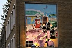 coloured tiles (Artee62) Tags: canon eos 7d london autumn bloomsbury wall art